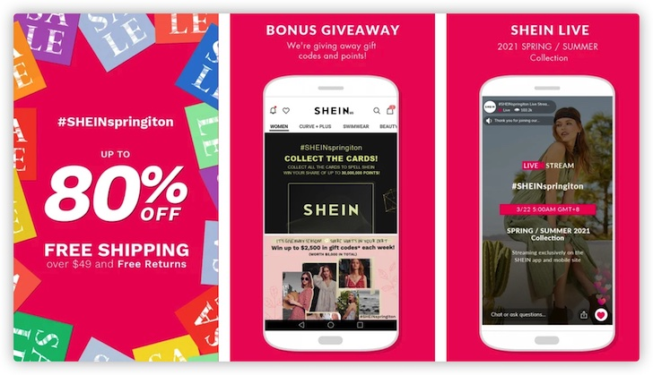 SHEIN-Fashion Shopping Online
