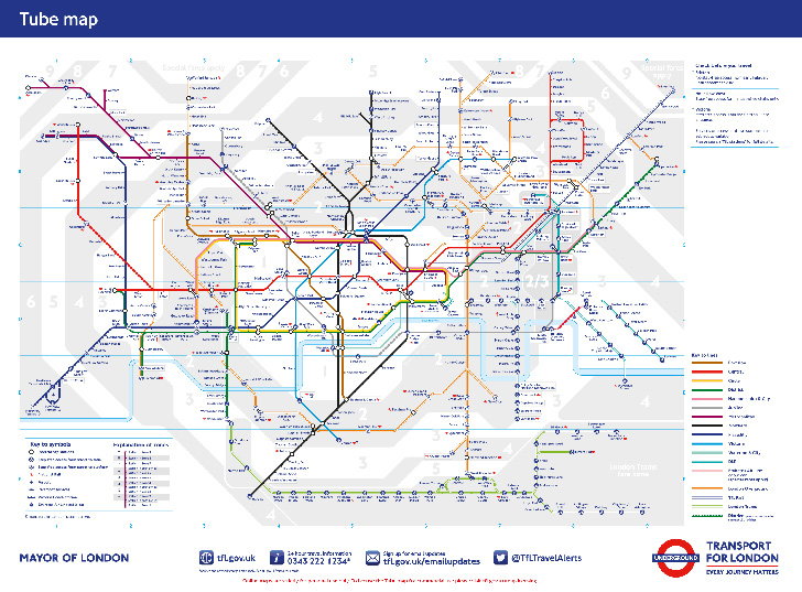 Tube Map - TfL London Underground
